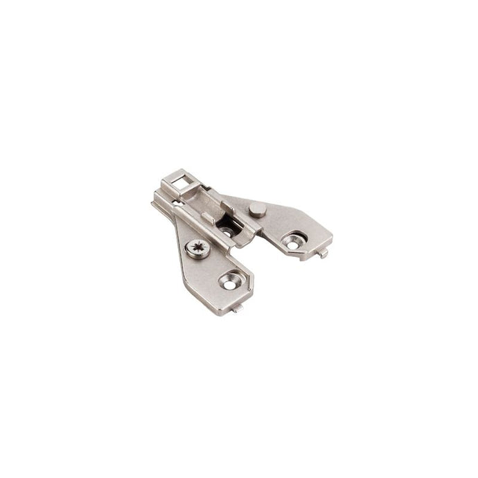 0mm Zinc Die Cast Cam Adjustable Face Frame Plate for 700 Series Soft-close Hinges.