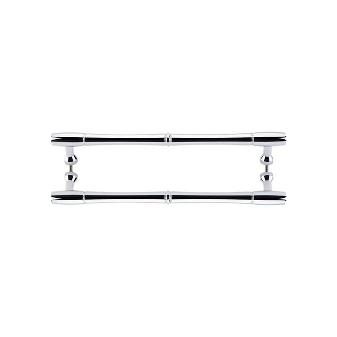 Top Knobs Nouveau Bamboo Back to Back Door Pull 18