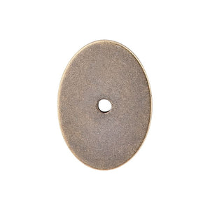 "Top Knobs Oval Backplate Large 1 3/4"" - German Bronze"
