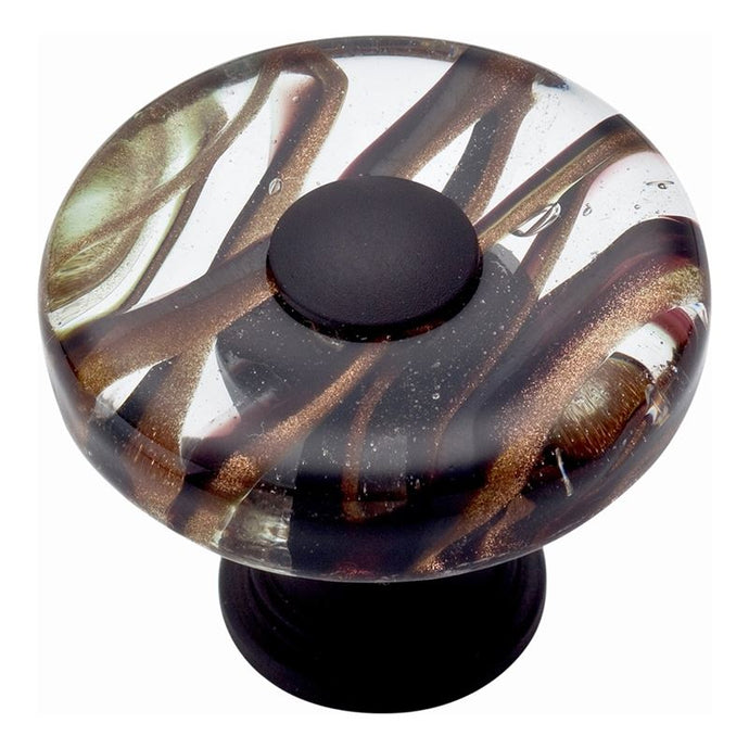 Atlas Milkyway Round Glass Knob