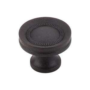 "Top Knobs Button Faced Knob 1 1/4"" - Rust"