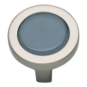 Atlas Spa Blue Round Knob