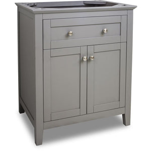 29-11/16 Grey Chatham Shaker Vanity Base