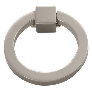 Camarilla Collection Ring Pull Satin Nickel Finish