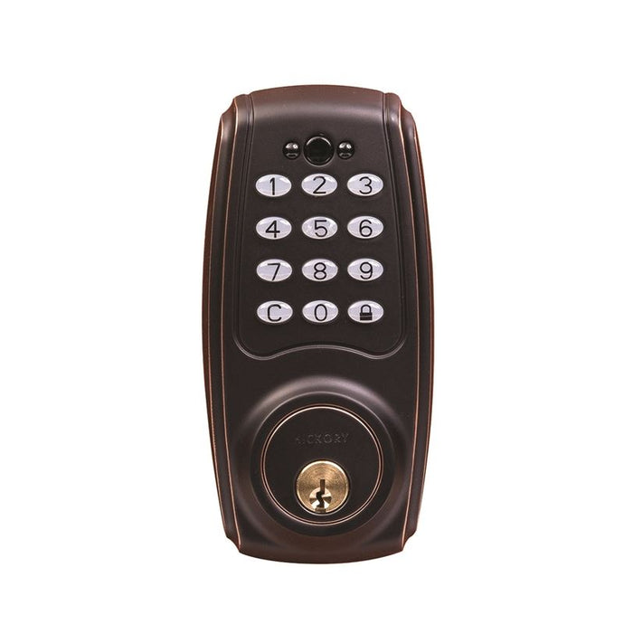 Electronic Keypad Grade 2 Deadbolt 3-3/16x6-13/16x2-1/16 Aged Bronze Finish