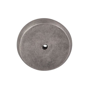 "Top Knobs Aspen Round Backplate 1 3/4"" - Silicon Bronze Light"