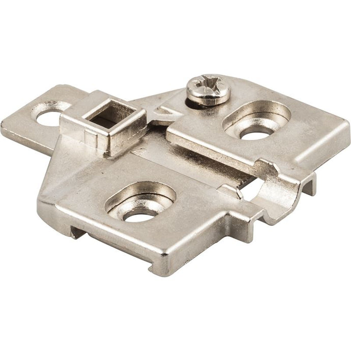 0mm Zinc Die Cast Screw Adjustable 3-Hole Mounting Plate