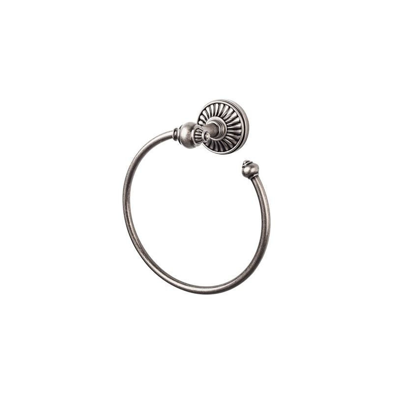 Top Knobs Tuscany Bath Ring - Antique Pewter