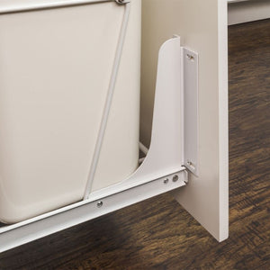 White Door Mount Kit for CAN-EBM Series