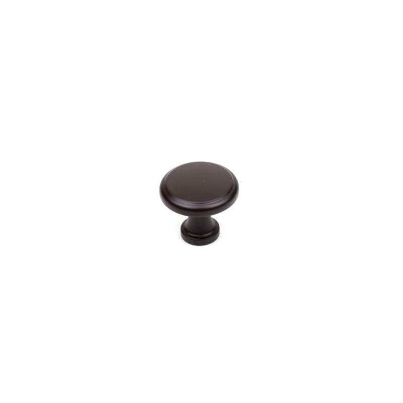 Century Hardware 1-1/4 Oil Rubbed Bronze with Highlights Round Knob