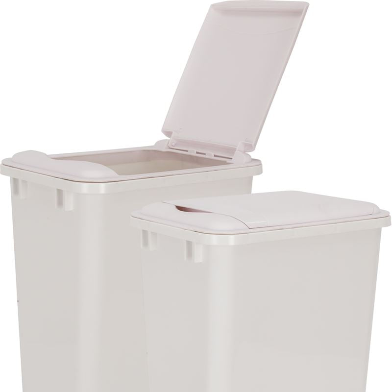 White Lid for 50-Quart Plastic Waste Container