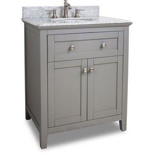 30 Grey Chatham Shaker Vanity with Top and Bowl