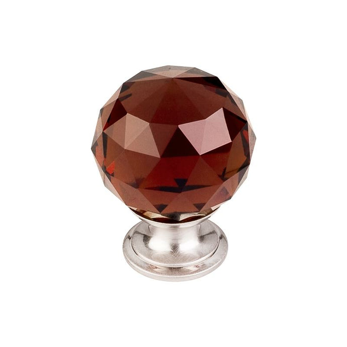 Top Knobs Wine Crystal Knob 1 3/8