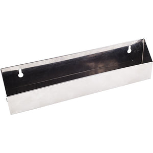 Shallow 11-11/16 Stainless Steel Tipout  Tray