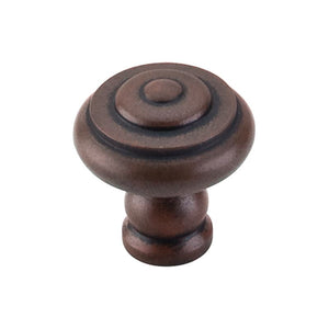 "Top Knobs Step Knob 1 1/8"" - Patina Rouge"