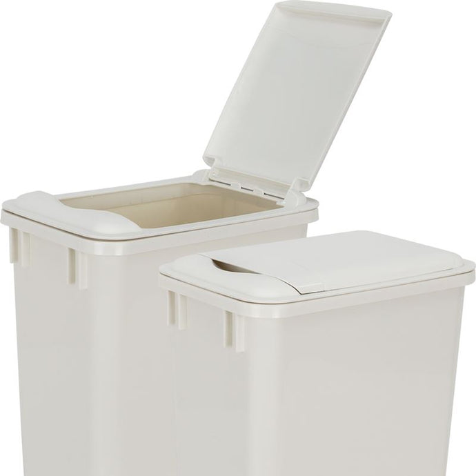 White Lid for 35-Quart Plastic Waste Container