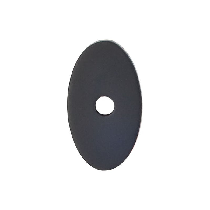 Top Knobs Oval Backplate Small 1 1/4
