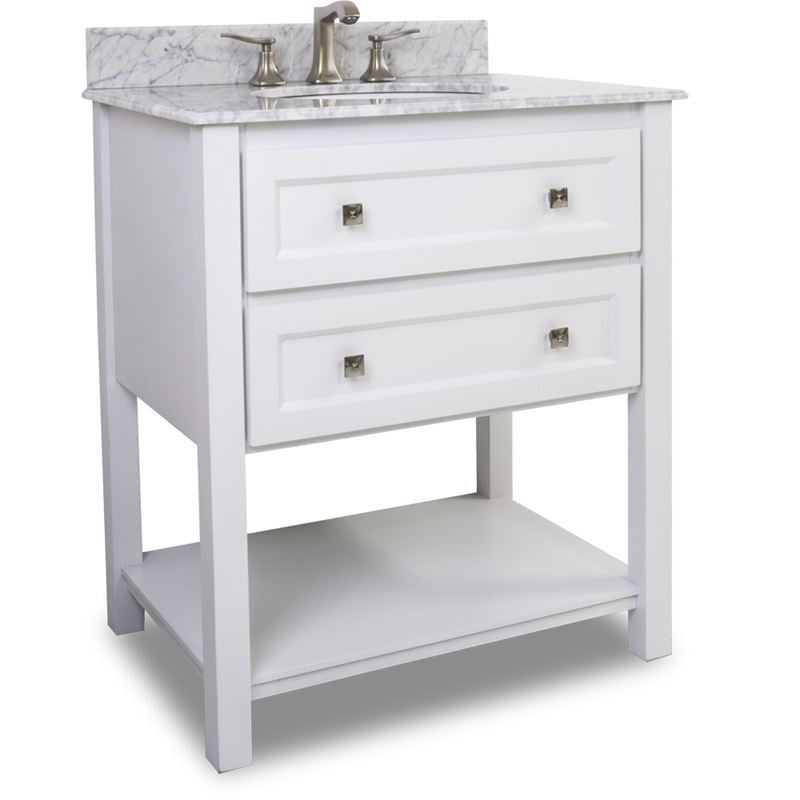 Elements Vanity with Preassembled Top and Bowl