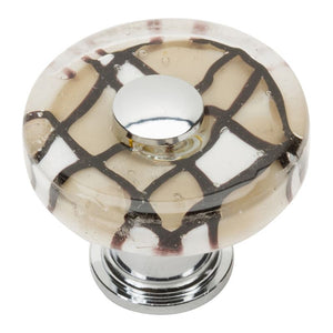 Atlas Viceroy Round Glass Knob