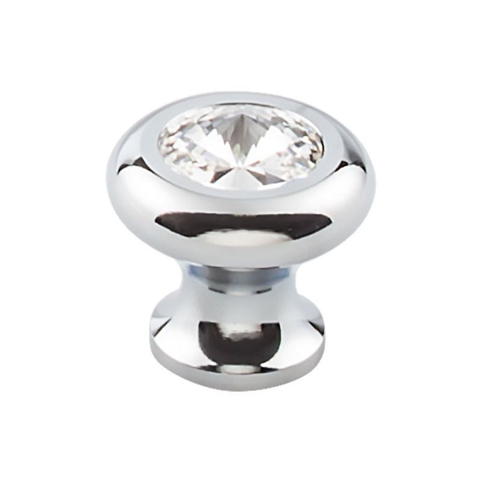 Top Knobs Hayley Crystal Knob Clear 1 3/16