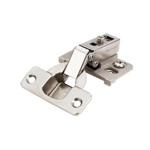 125 Degree Refacing Cam Adjustable Face-Frame Hinge 1/2 Overlay without Dowels.