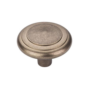 "Top Knobs Aspen Peak Knob 2"" - Light Bronze"
