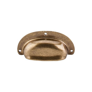 "Top Knobs Mayfair Cup Pull 3 3/4"" - German Bronze"