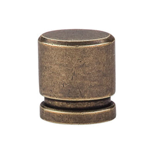 "Top Knobs Oval Knob Small 1"" - German Bronze"
