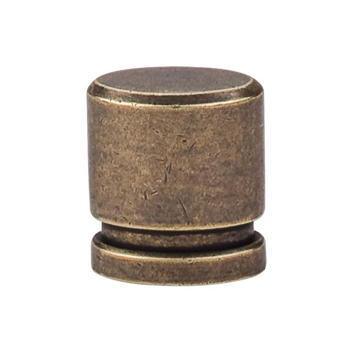 Top Knobs Oval Knob Small 1
