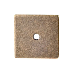 "Top Knobs Square Backplate 1 1/4"" - German Bronze"
