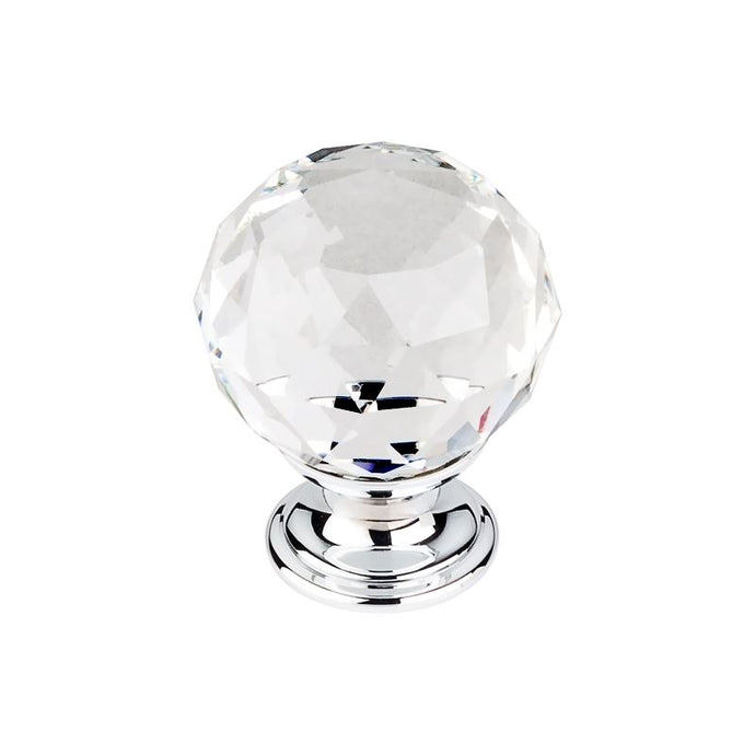 Top Knobs Clear Crystal Knob 1 3/8