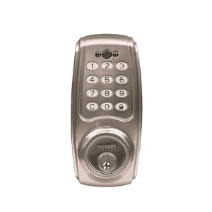 Electronic Keypad Grade 2 Deadbolt 3-3/16x6-13/16x2-1/16 Satin Nickel Finish