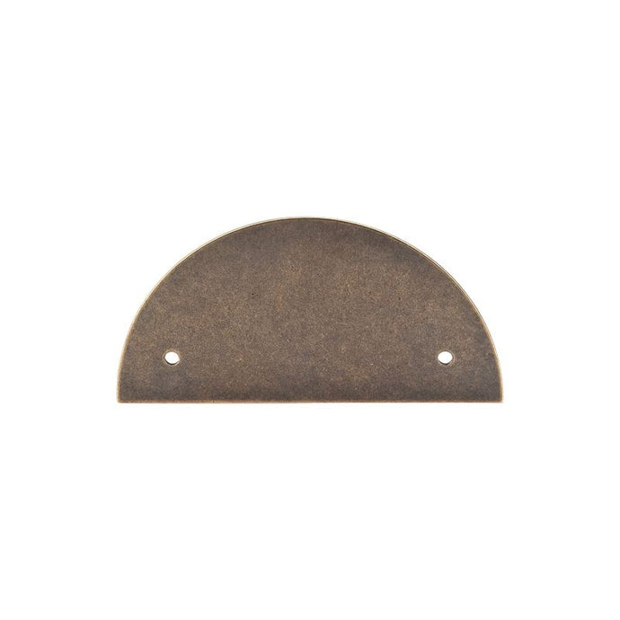 Top Knobs Half Circle Backplate 3 1/2