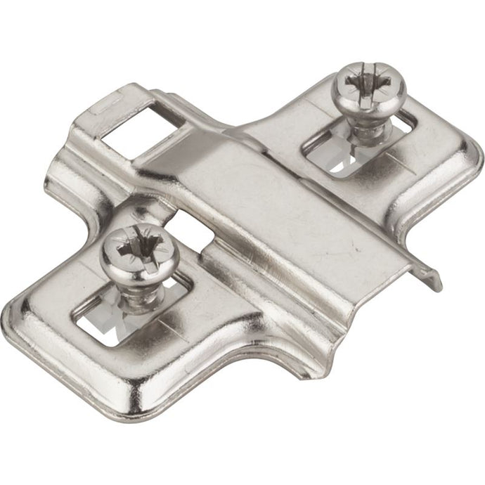 0mm Clip-on Base Plate with Euro Screws for 500 Series
