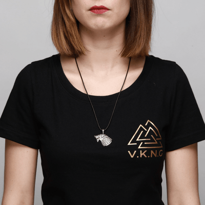 Freki Wolf Of Odin Necklace