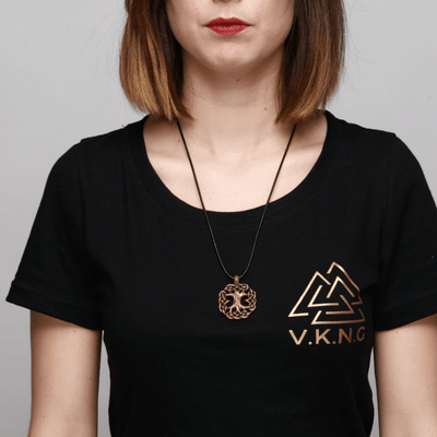 Bronze Yggdrasil Necklace