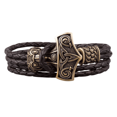 Thorvald Leather Bracelet