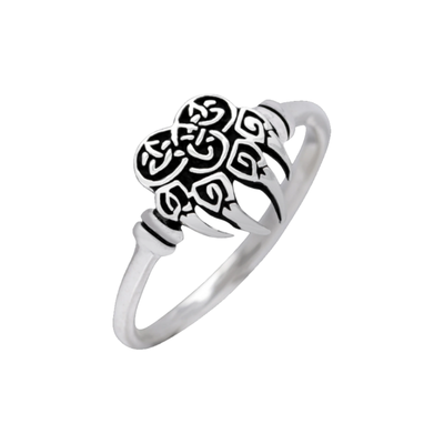 Shieldmaiden Bear Claw Sterling Silver Ring