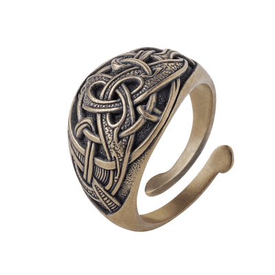 Trinity Viking Ring Bronze Norse Style