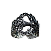 Yggdrasil with Ornament Sterling Silver Ring