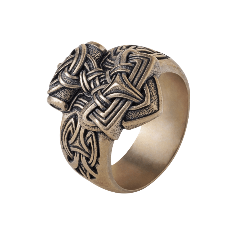 Mjolnir Ring Bronze