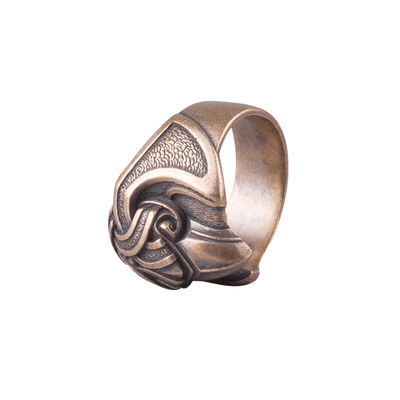 Odin's Crow Bronze Nordic Ring
