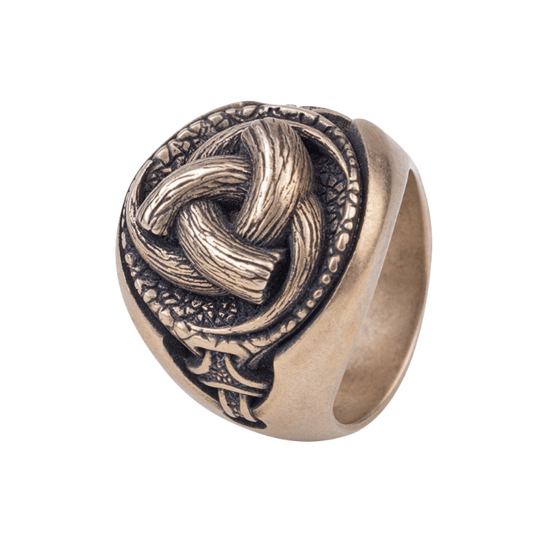 Odin's Horns Bronze Ring