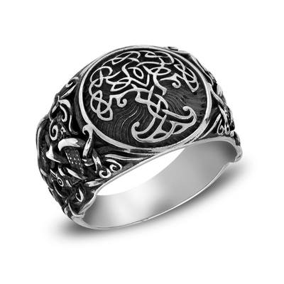 Yggdrasil Mammen Style Sterling Silver