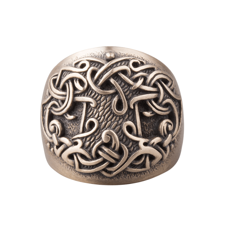 Tree of life Viking Ring Bronze