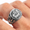 Drakkar Ship Sterling Silver Ring