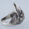 Raven Natural Sterling Silver Ring