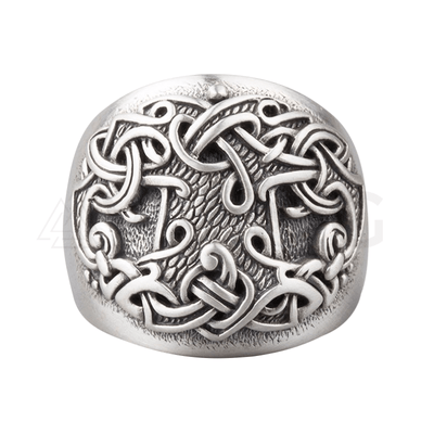 Tree Of Life Viking Silver Ring