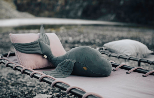 Moby Whale Cushion