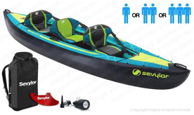 Sevylor Ottawa Inflatable Kayak